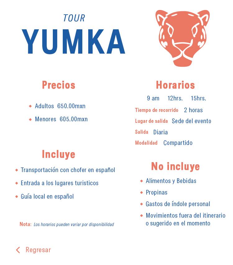 tour yumka